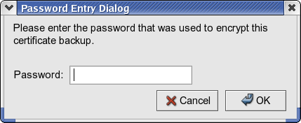 import password